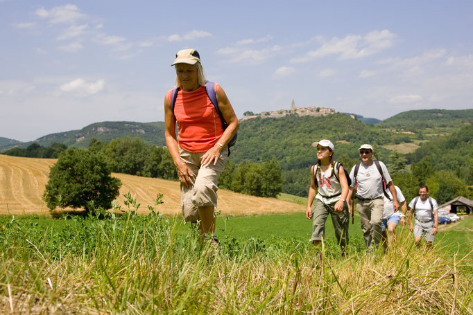 Puycelsi, classée grand site d'Occitanie