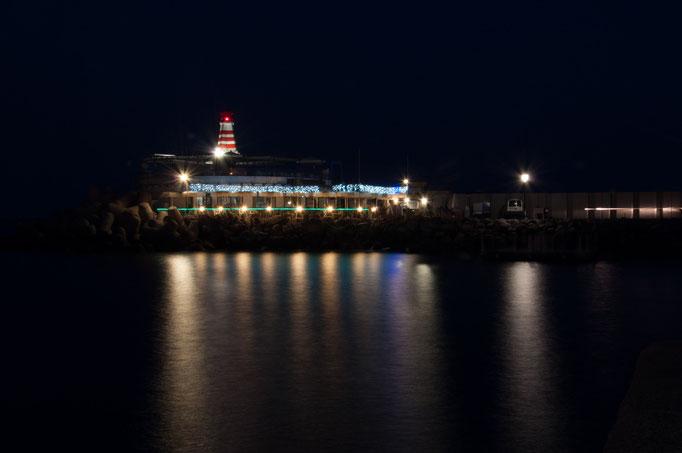 Leuchtturm bei Nacht / Daniel Keller Fotografie