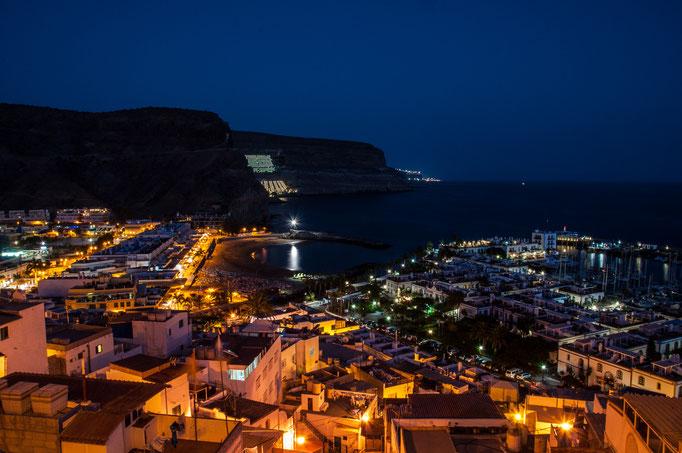 Gran Canaria Port de Morgan bei Nacht / Daniel Keller Fotografie