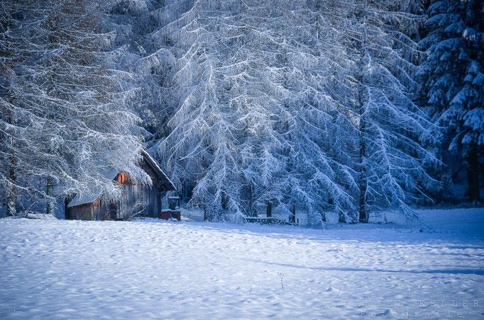 Schneelandschaft / Daniel Keller Fotografie