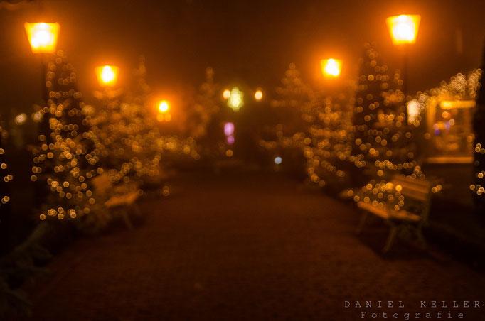 Weihnachtsstimmung bei Nacht / Daniel Keller Fotografie