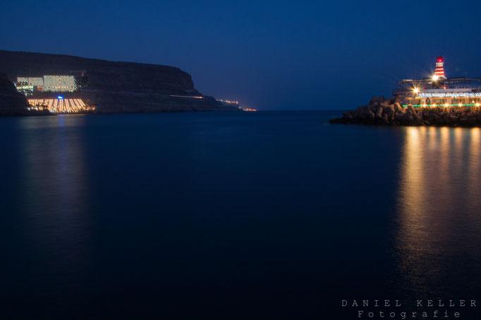 Port de Morgan bei Nacht / Daniel Keller Fotografie