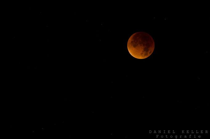 Super Blutmond / Mondfinsternis  / 28.09.2015 / Daniel Keller Fotografie