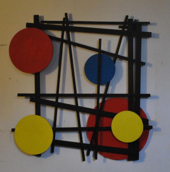 Equilibrio 3. Acrilico su legno