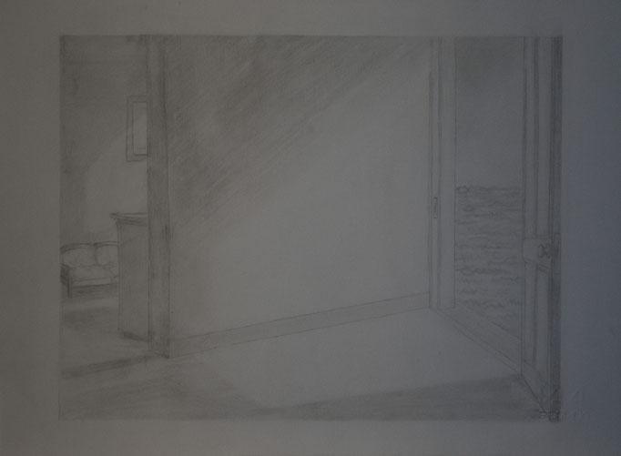 Omaggio a Hopper (24 cm x 33 cm)