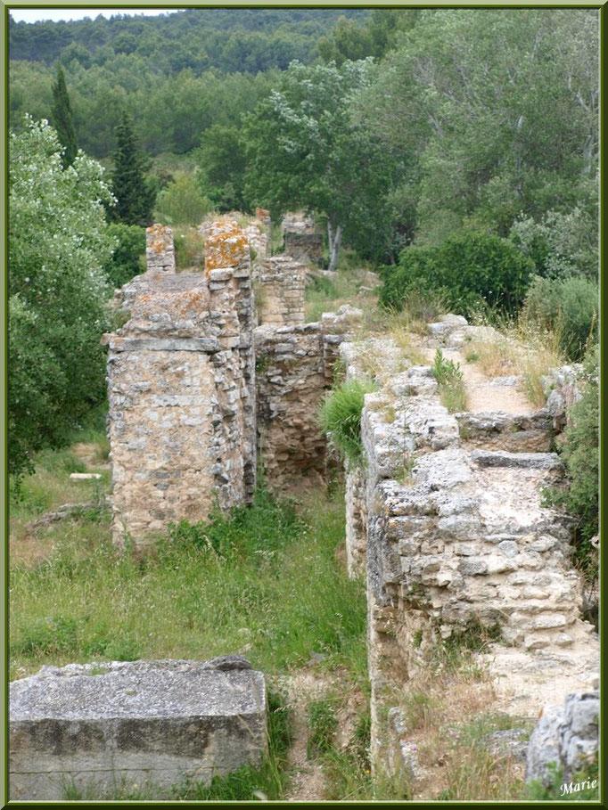 Aqueduc à Fontvielle dans les Alpilles (Bouches du Rhône)