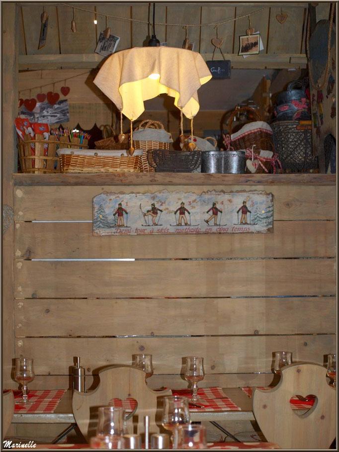"""Restaurant """"Etoile des Neiges"""", sation de ski de Gourette (Pyrénées)"""