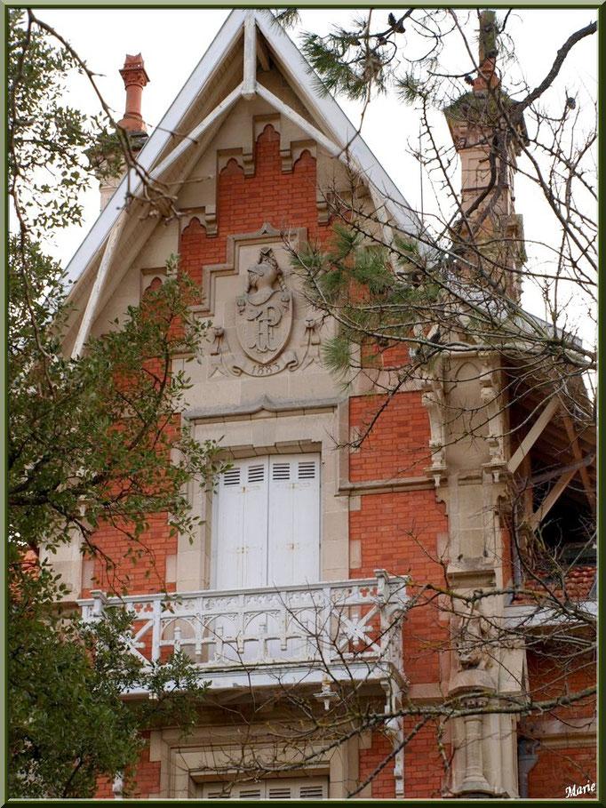 """La villa """"St Louis"""" en """"Ville de Printemps"""" à Arcachon"""