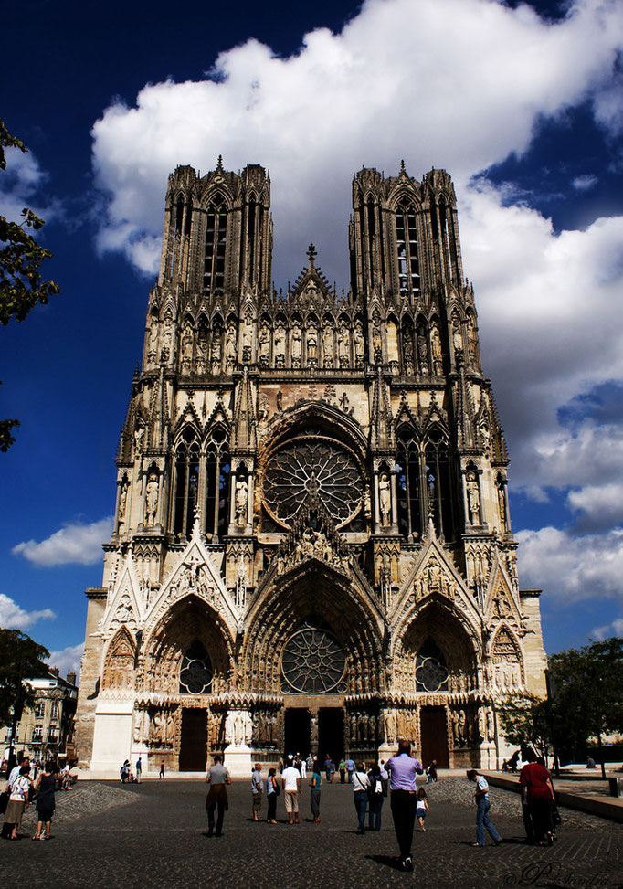 Cathédrale de Reims .. 21.08.12