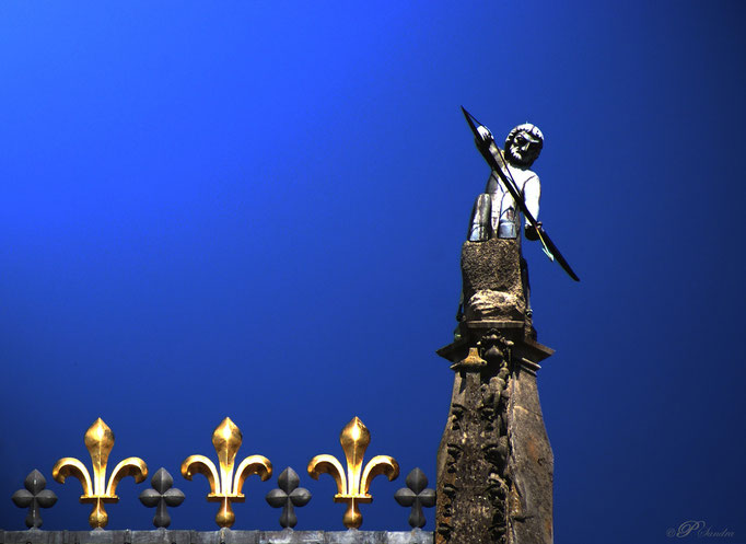 Détail sur la Cathédrale de Reims .. 21.08.12