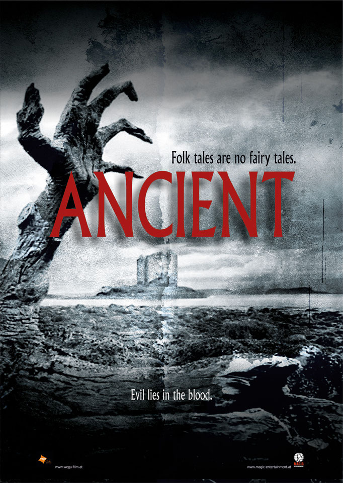 ANCIENT   FORMAT: Feature GENRE: Horror LANGUAGE: English RUNNING TIME: approx. 90'  STATUS: In  Pre-Production  Co-Production with WEGA-Film