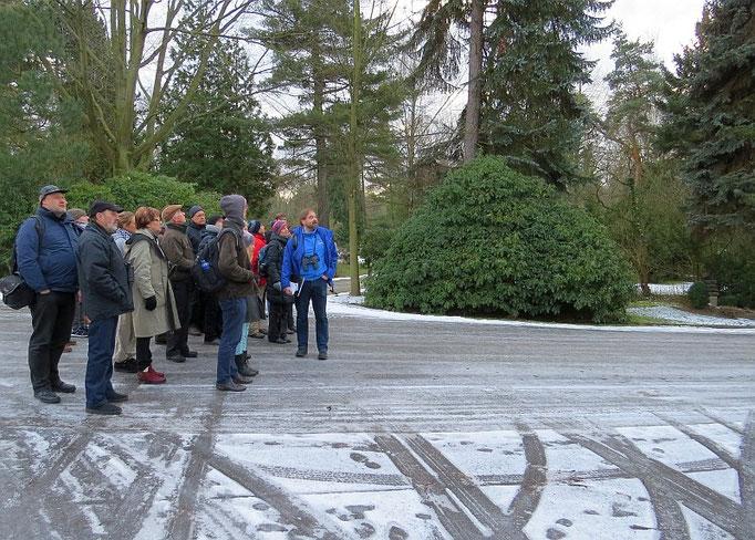 Gleichzeitig gab es auch Informationen über NABU-Projekte und zur Natur auf dem Südfriedhof.