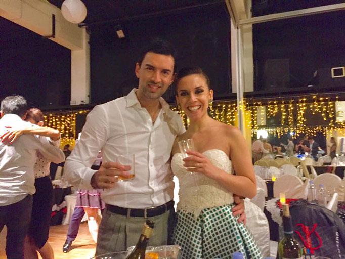 Pablo mit Yanina Quinones