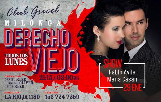 Exhibición Gricel Buenos Aires 2018