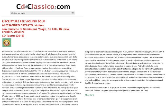 Cd Classico, 2017
