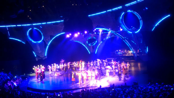 Abschluß einer grandios beeindruckenden Show...