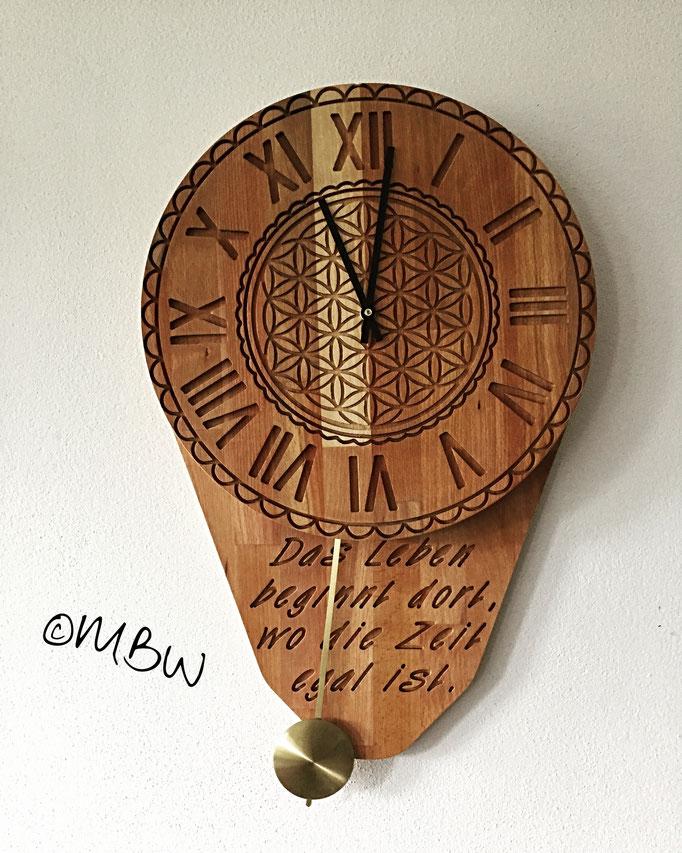 Pendeluhr aus Holz - DIY