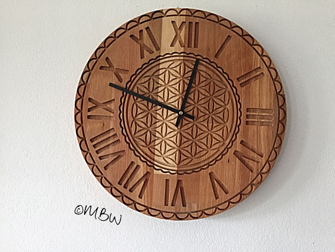 Wanduhr aus Holz - DIY