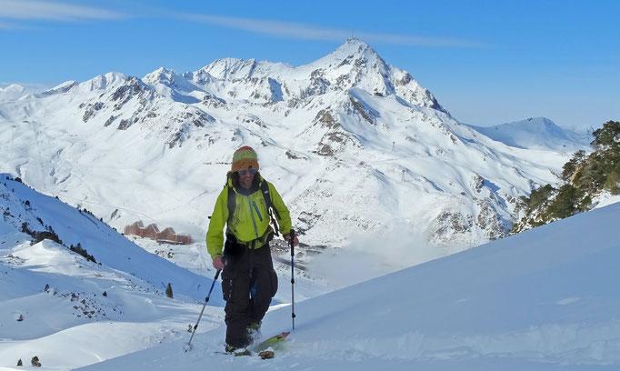 Moniteur de ski et snowboard indépendant dans lesPyrénées