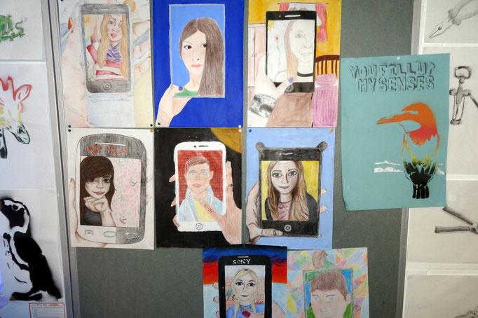 Das Fach Kunst hat an vielen irischen Schulen einen hohen Stellenwert.