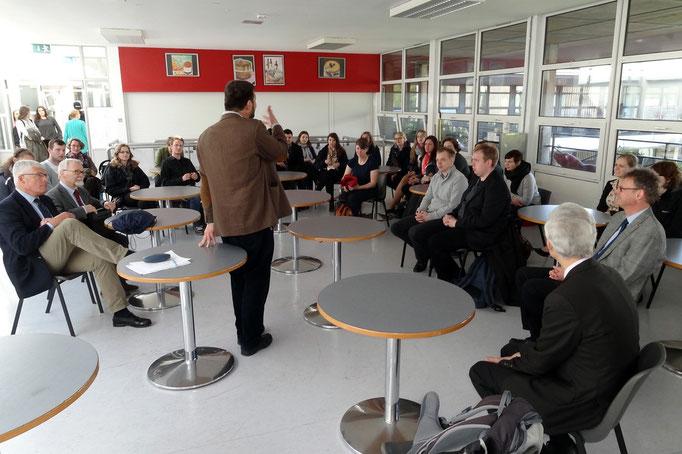Besuch an der St. Kilian's German School und dem Lycée Français d'Irlande.
