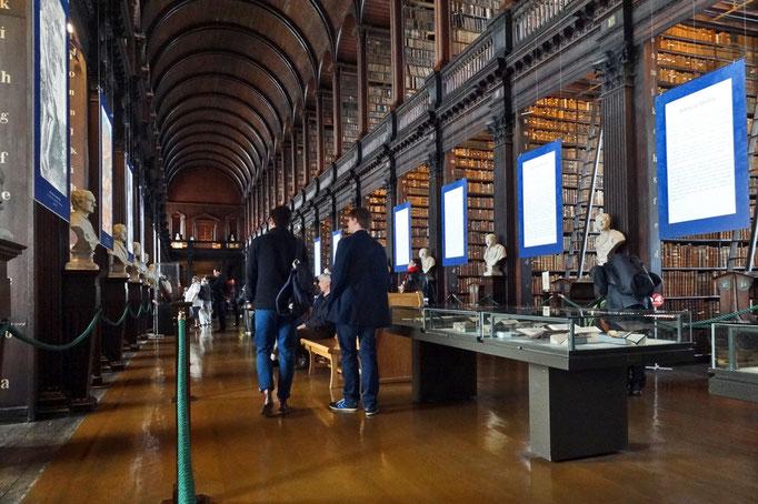 Die historische Bibliothek des Trinity College.
