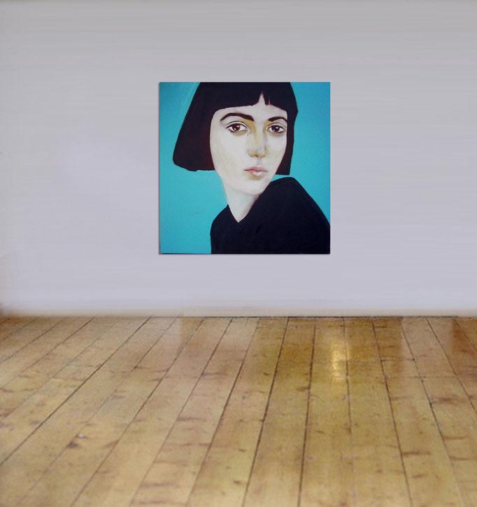Study 2310-2016 - Acrylics on canvas 100 x 100 cm