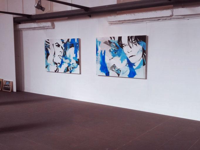 """Blick in die Ausstellung """" KUNSTFIGUR """" - Spitäle, Würzburg 30.10.207 - 22.10.2017"""