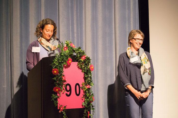 Vivien Ansermet schlägt den Mitgliedern Alice Scherer zur Wahl als neues Vorstandsmitglied vor.