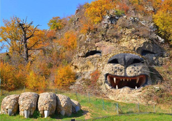 León de roca (Armenia)