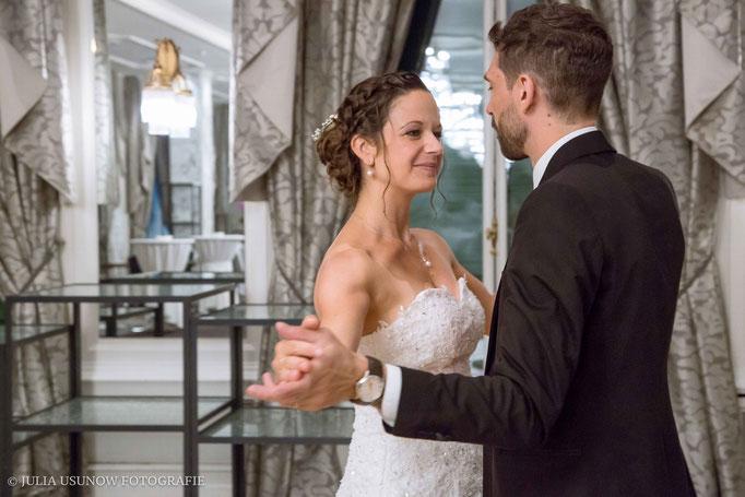 Hochzeitstanz im Hotel Schweizerhof
