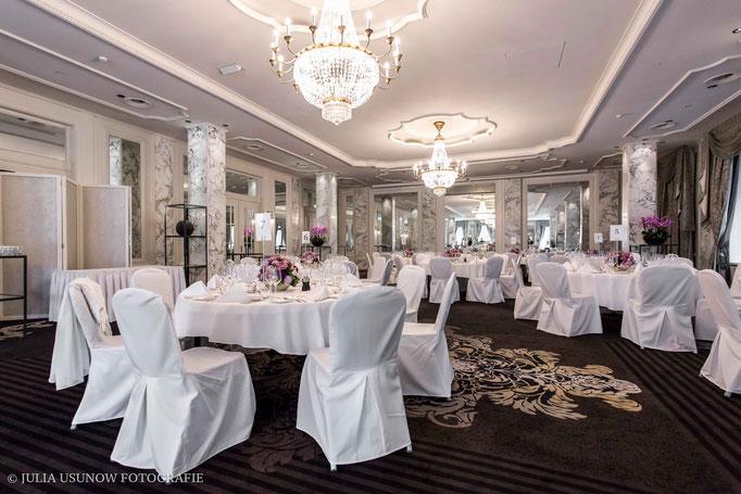 Saal vom Hotel Schweizerhof in Bern, Hochzeitslocation