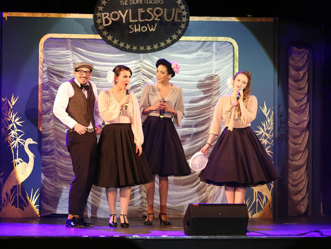 Divine Teasers Boylesque Show im Capitol Theater in Mannheim