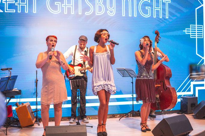 Gatsby Swing Night auf der Frankfurter Messe
