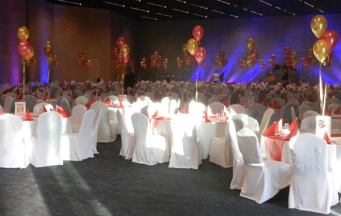 balony na stół stroiki balonowe