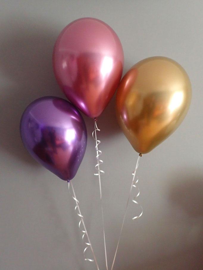 balony chromowe shiny