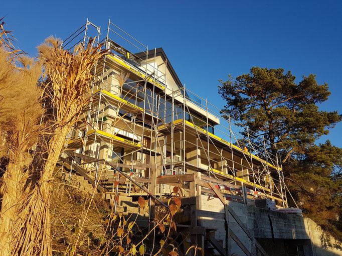 Umbau eines EFH's mit wunderbarer Lage und super Aussicht in Herrliberg.