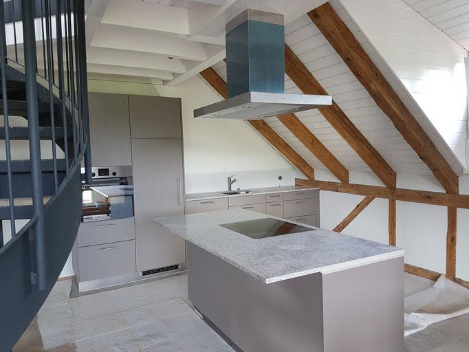 Die zweistöckigen Dachwohnungen sind eine absoluter Hingucker.