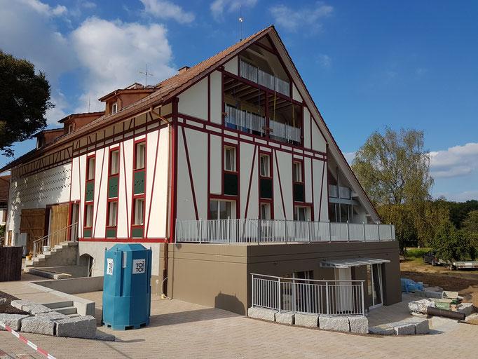 Umbau eines Bauernhaus mit 8 wunderschönen und stylishen Wohnungen.