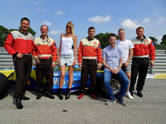 Formel 1 selber fahren Firmen Event