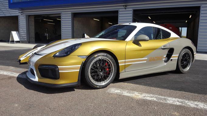 Porsche Dijon Co Pilot Renntaxi