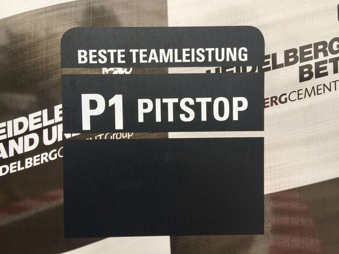 Formel 1 Rennwagen Reifenwechsel Simulator Pitstop Challenge