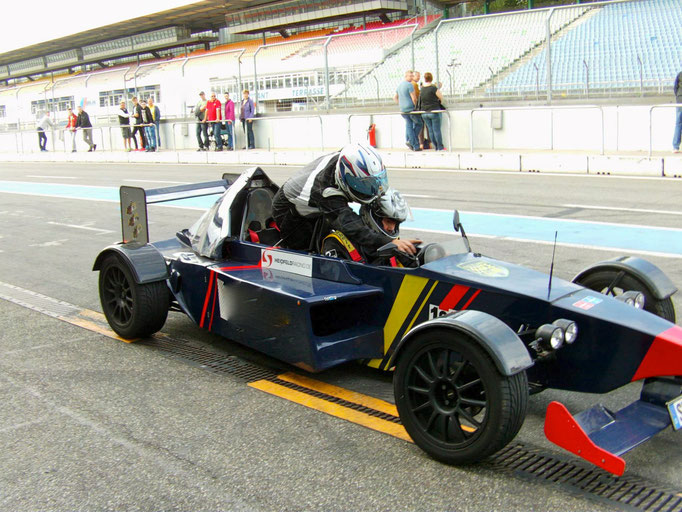 Hockenheimring Formel Renntaxi
