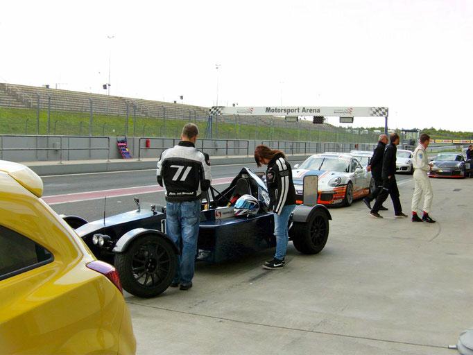 Formel 3000 Replica selber fahren Oschersleben