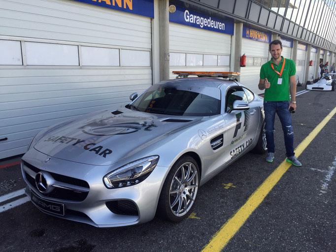 Mercedes AMG GT oder GTS auf der Rennstrecke selber fahren