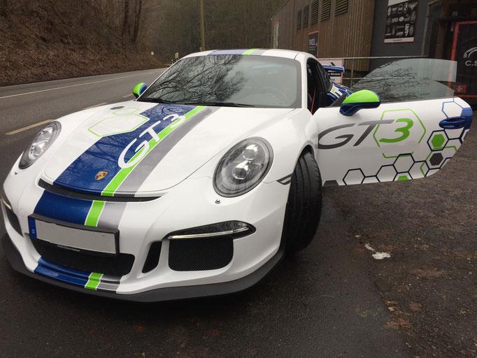 Porsche Rennwagen selber fahren Spa Francorchamps 991