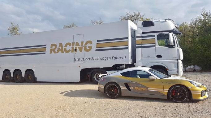 Anneau du Rhin Co Pilot Renntaxi im Porsche