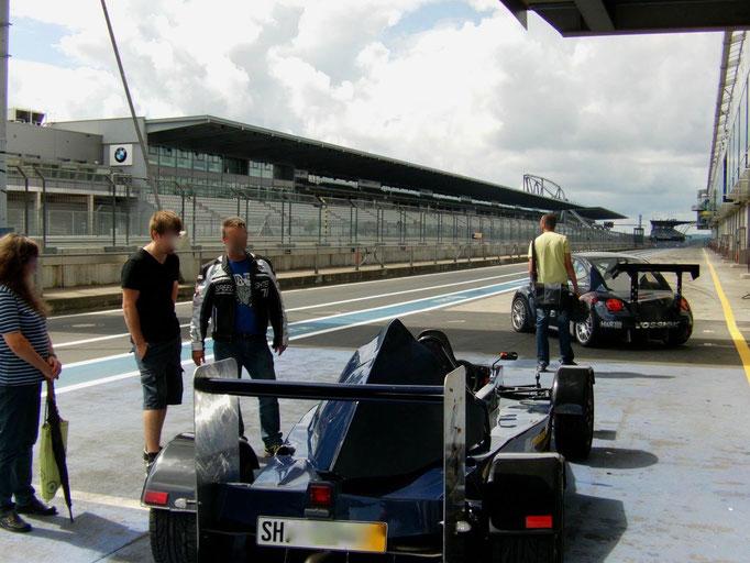 Nürburgring Formel Rennwagen selber fahren