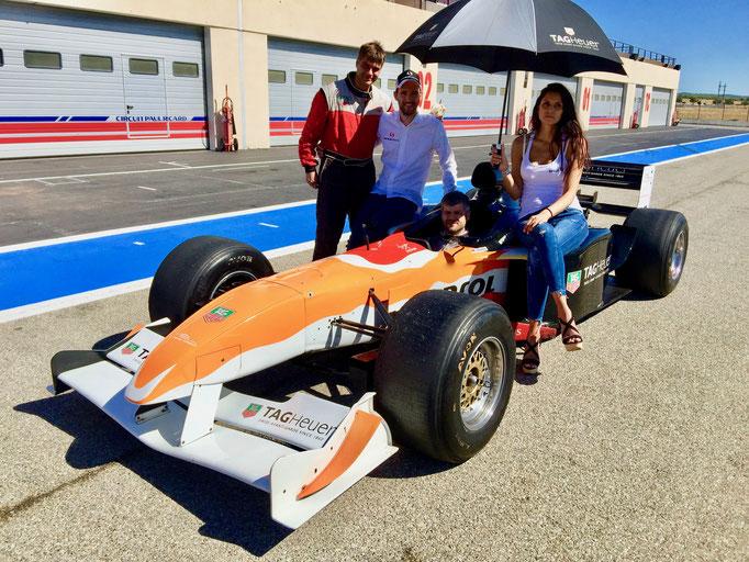 Sven Heidfeld, Formel 1 selber fahren für jedermann