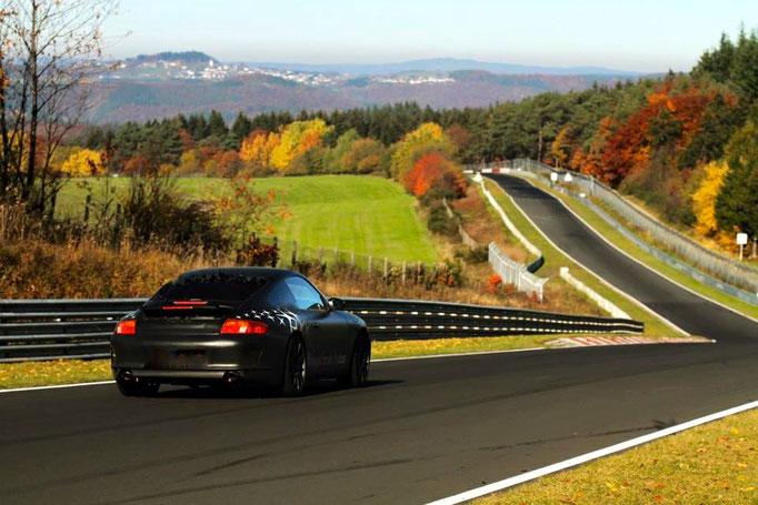 Porsche 911 Renntaxi und Renntaxi Co Pilot Motorsport Events